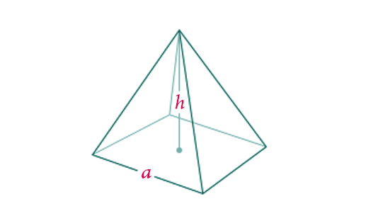 Volume of a Square Pyramid