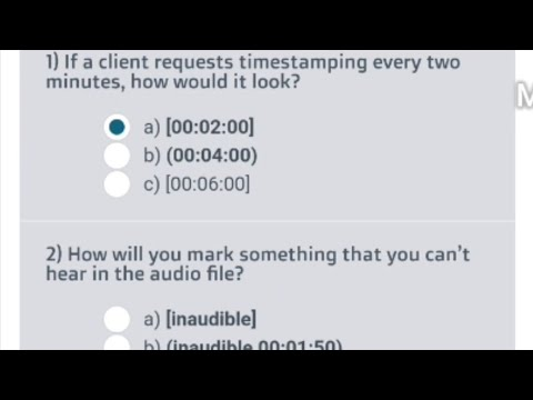 If A Client Requests Timestamping Every Two Minutes, How Would It Look?