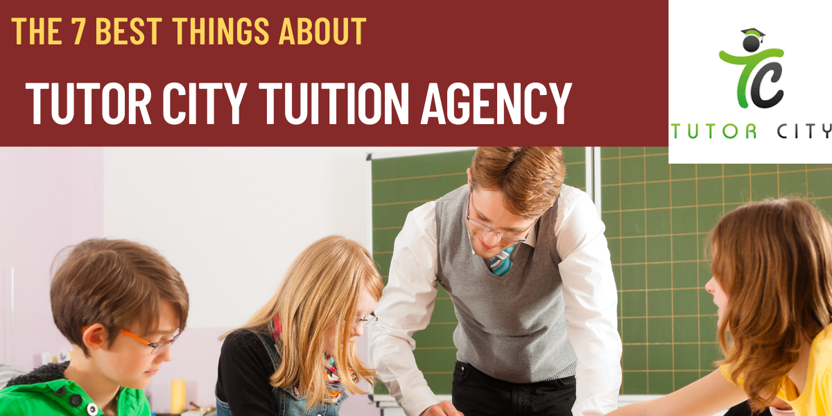 The 7 Best Things About Tutor City Tuition Agency